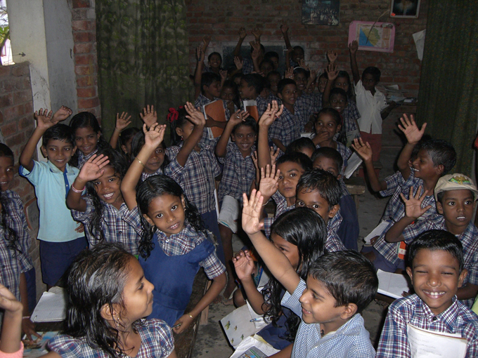 Nachhilfeschule Indien
